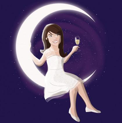 Amanda is over the moon!