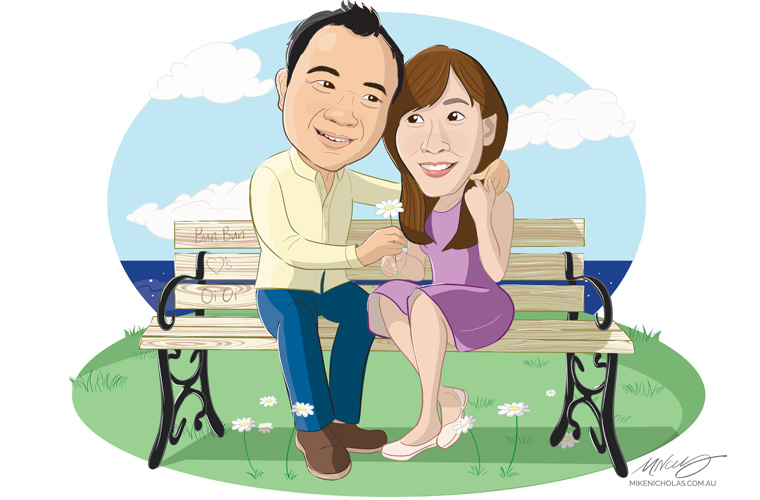 Couple_sitting_on_park_bench